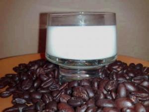 Mjölk i kaffet.